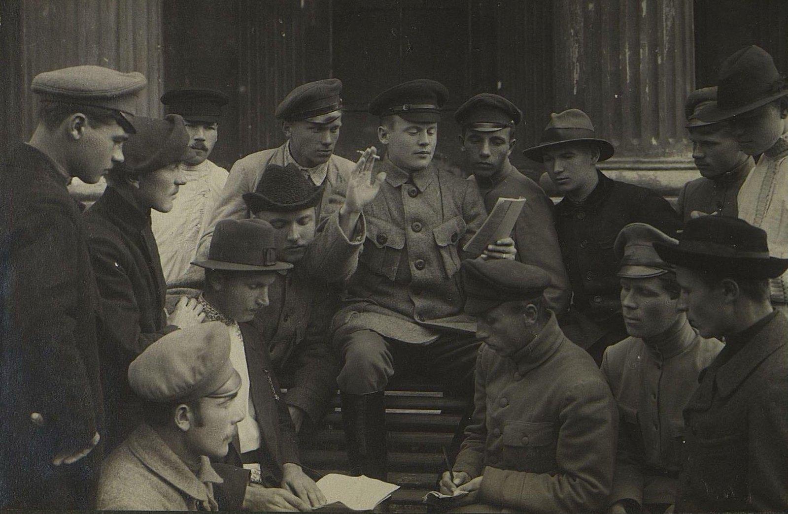 Досуг курсантов 1918 года