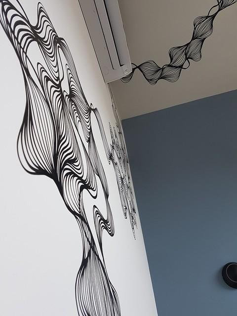 Linhas em Dormitório