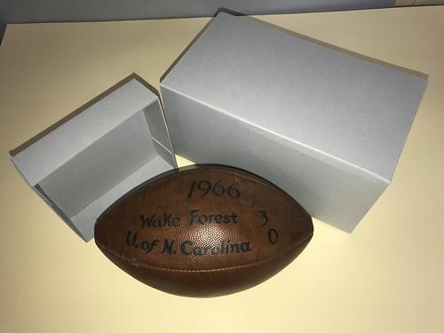 WFU Football box