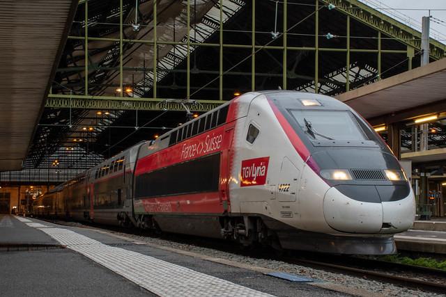 TGV 4722 Paris Gare de Lyon