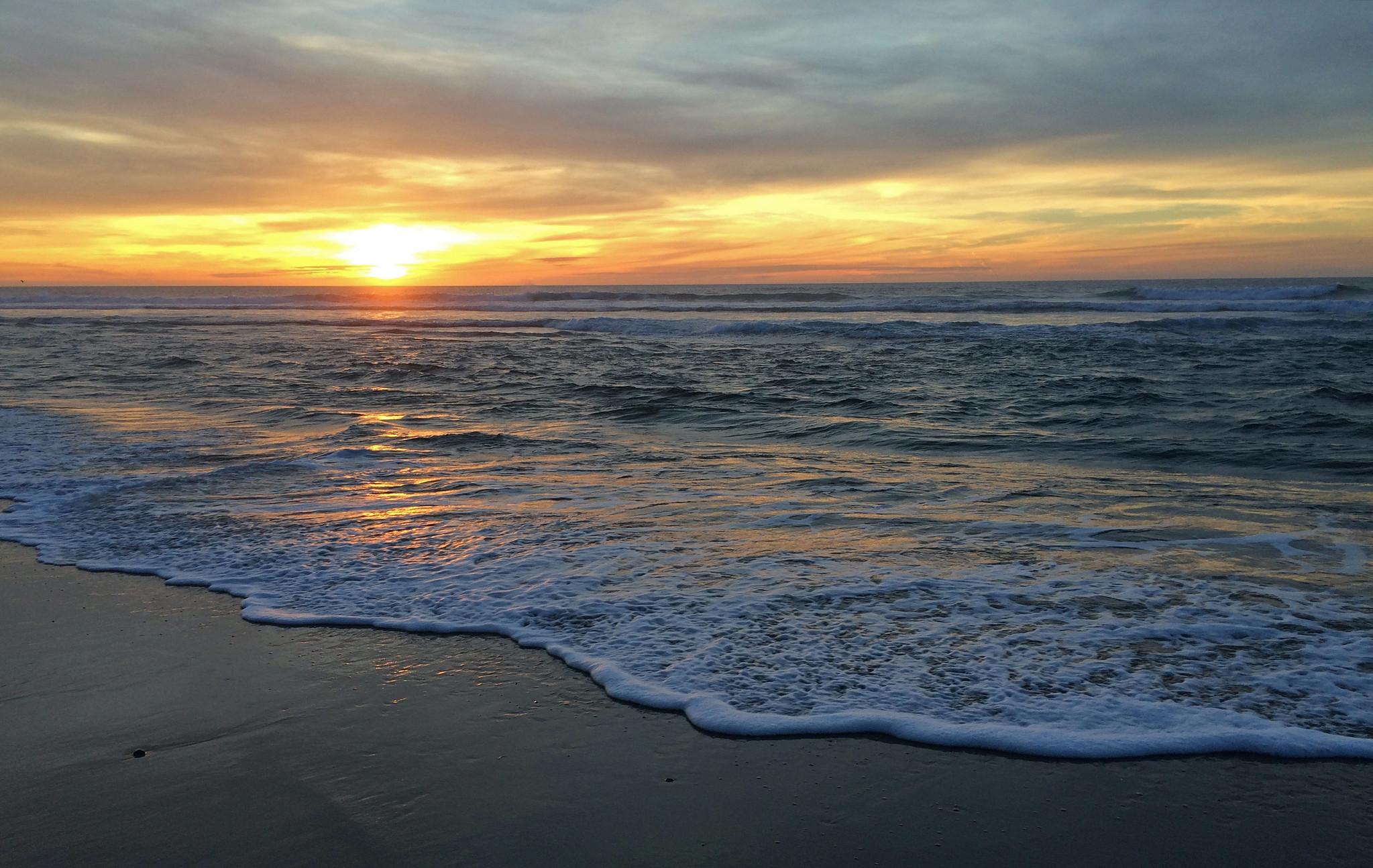 Pescadero State Beach, San Francisco Bay Area, CA, USA