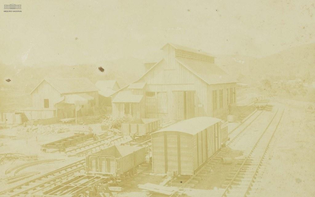 Oficinas em Itoupava Seca, Blumenau (SC), 1908