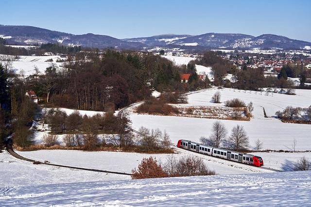 DB Regio_622 026-2/526-1_Zotzenbach 10.01.2021 [RB 69 Fürth (Odenw) - Weinheim (Bergstr) Hbf]
