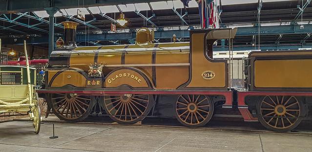 LBSCR Stroudley B1 0-4-2 214 'Gladstone'