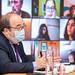 25.02.2021 Reunión de secretarios de política institucional