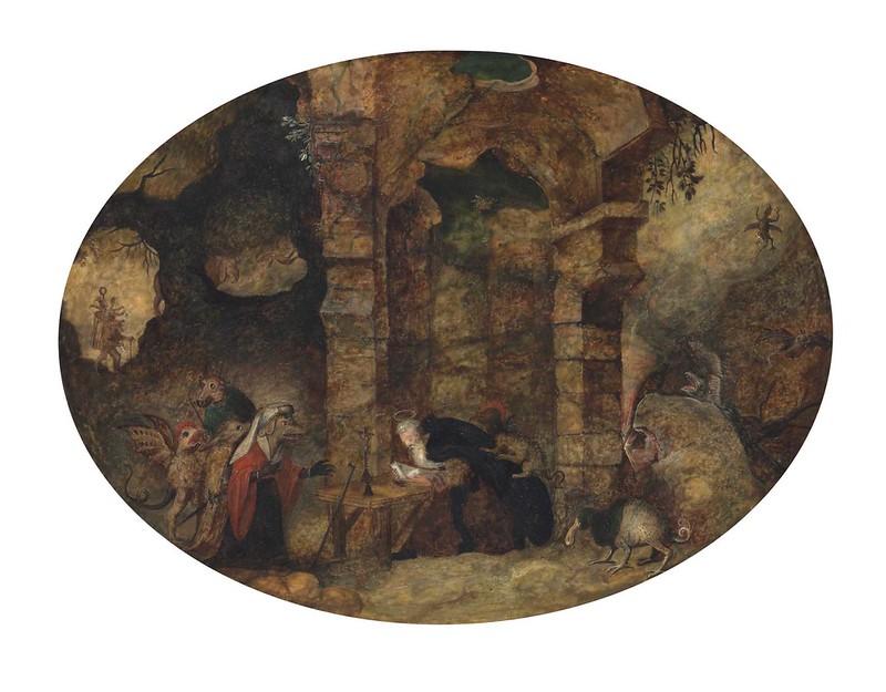 Follower of Jan Brueghel II - The Temptation of Saint Anthony