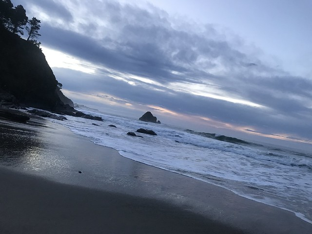 Anchor Bay Campground Beach at Sunrise in December