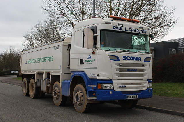 Scania G410 - Aggregate Industries