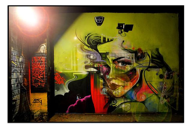 LONDON STREET ART by MR.CENZ