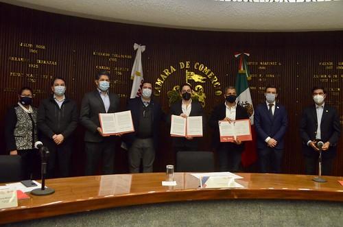 25 Feb 2021 . Coordinación de Seguridad . Firma de convenios de colaboración entre la Coordinación General Estratégica de Seguridad,  la Secretaría de Educación Jalisco y la Cámara de Comercio de Guadalajara.