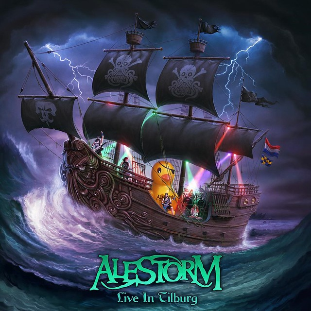 Alestorm Releases Live Video Of Pirate Metal Drinking Anthem 'Drink'