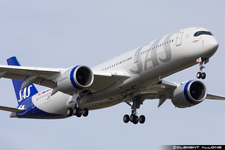 SAS Scandinavian Airlines Airbus A350-941 cn 484 F-WZNV // SE-RSE