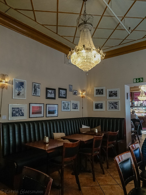 Inside Café Husaren