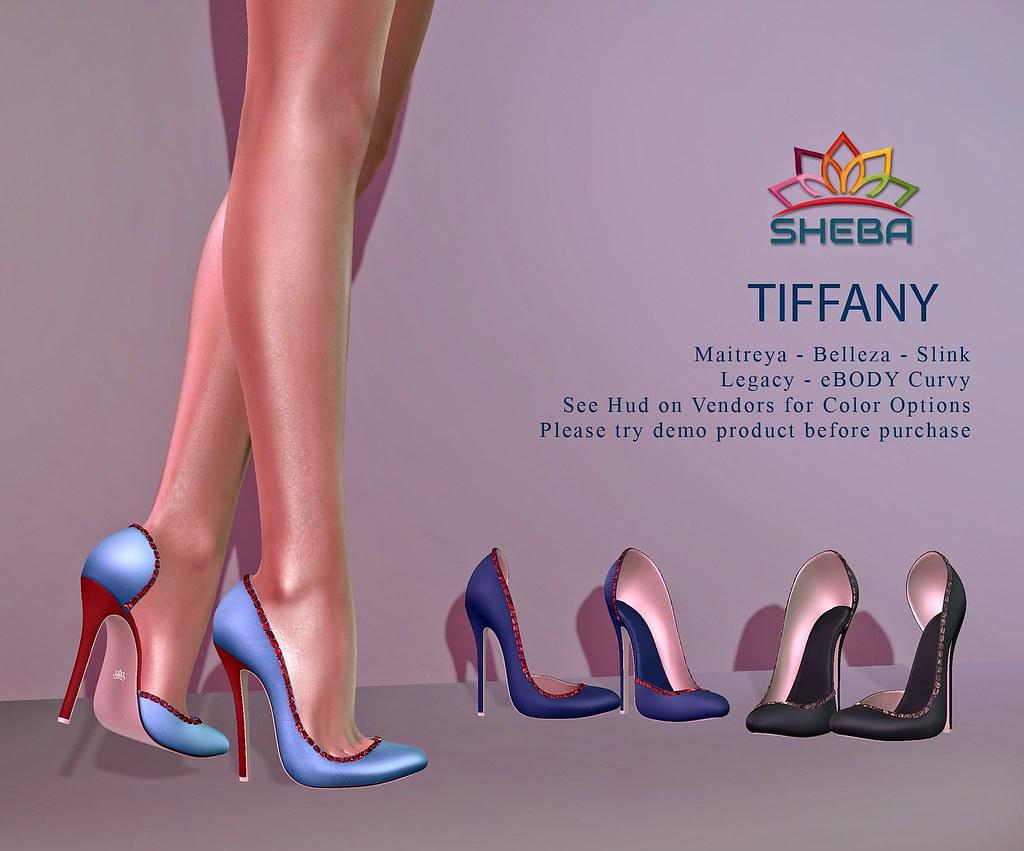[Sheba] Tiffany Heels