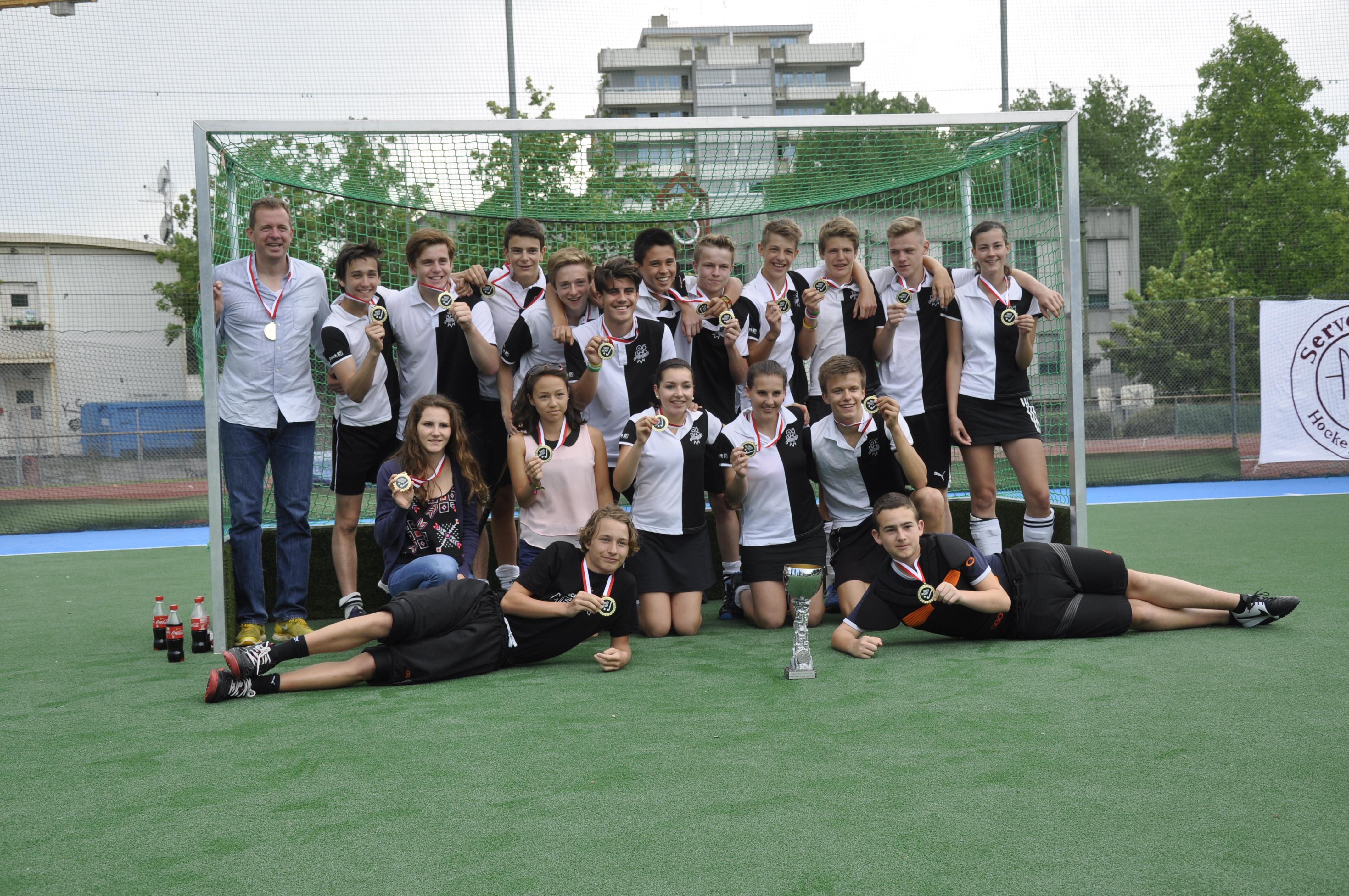 2014 Jugend U17 Schweizermeister Feld