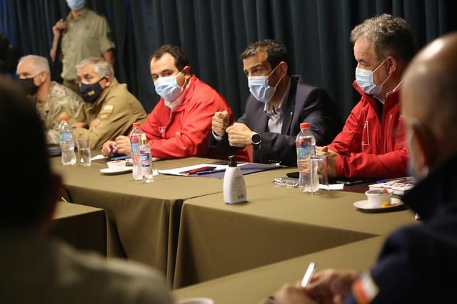 Reunión en la Provincia de Arauco, región del Biobío