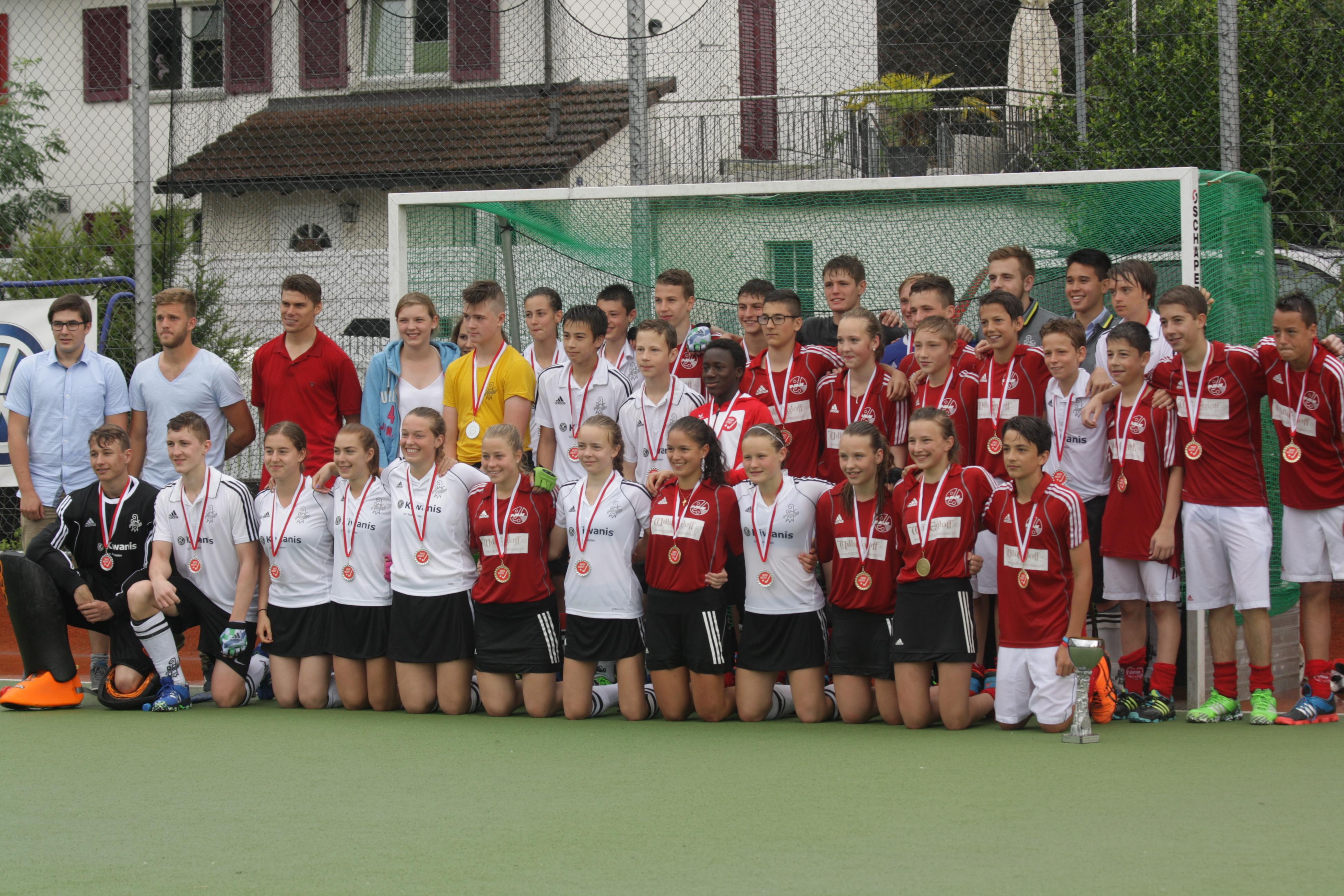 2016 Jugend U17 Vizemeister Feld