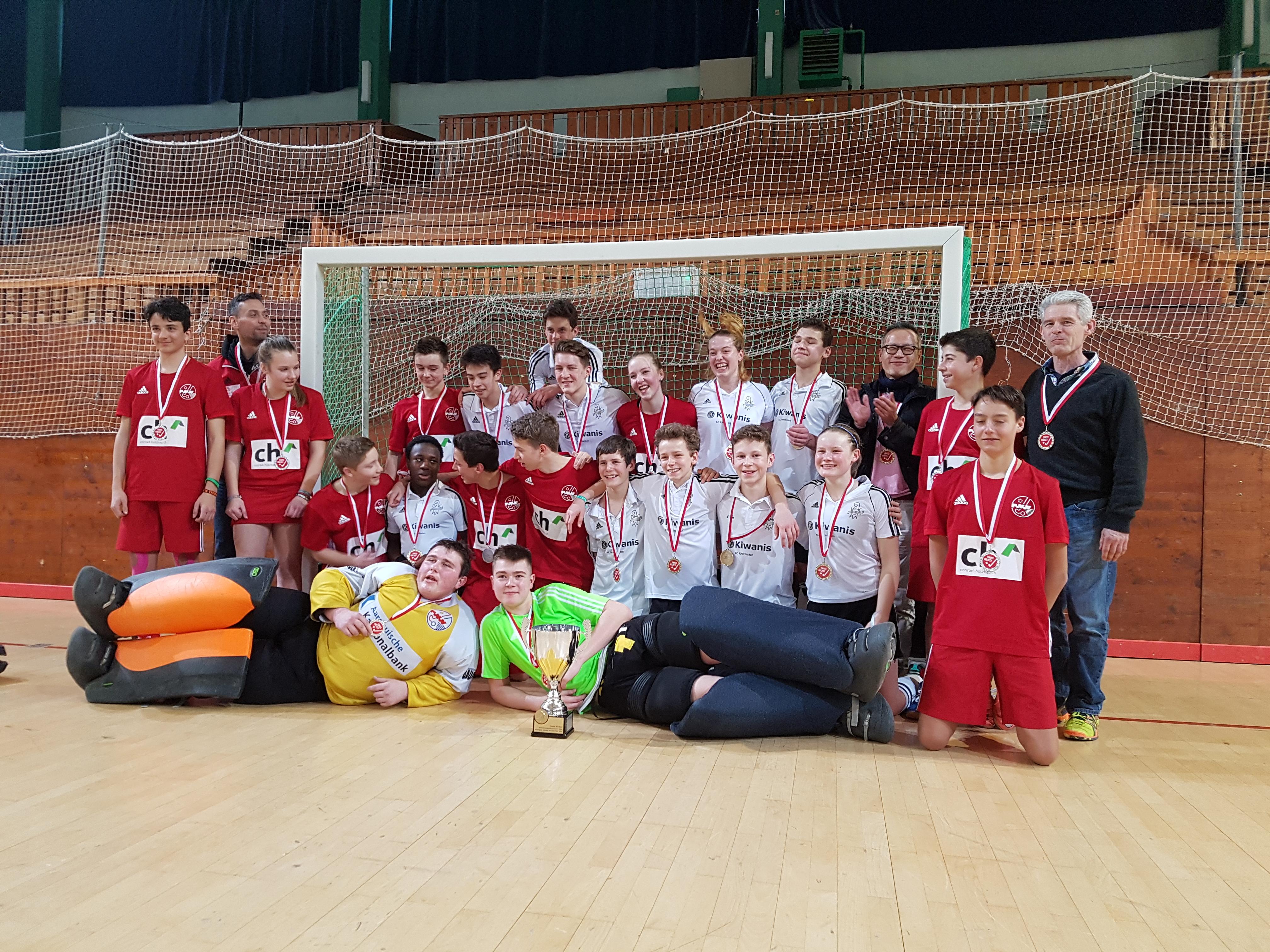 2017 Jugend U17 Schweizermeister Halle