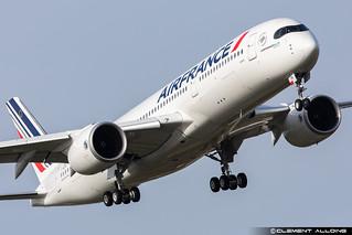 Air France Airbus A350-941cn 488 F-WZGR // F-HTYH