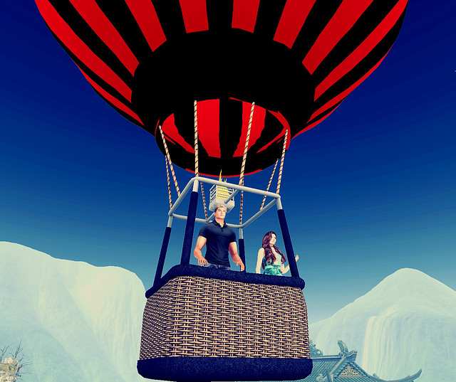 Exhalt -  Balloon Ride Over Blue Mountain Peaks