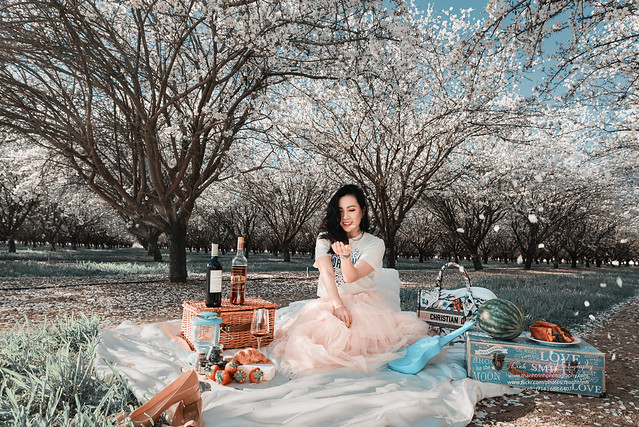Almond Blossom 2021 - Solo Portrait Photosession