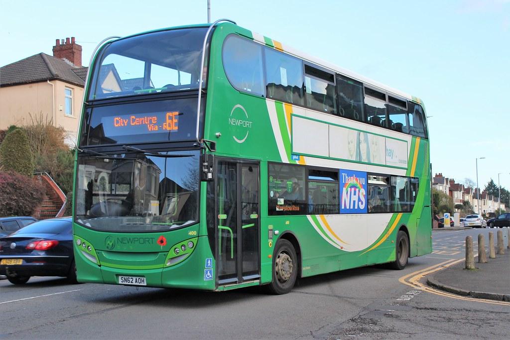Newport Transport 400 (SN62 AOH)