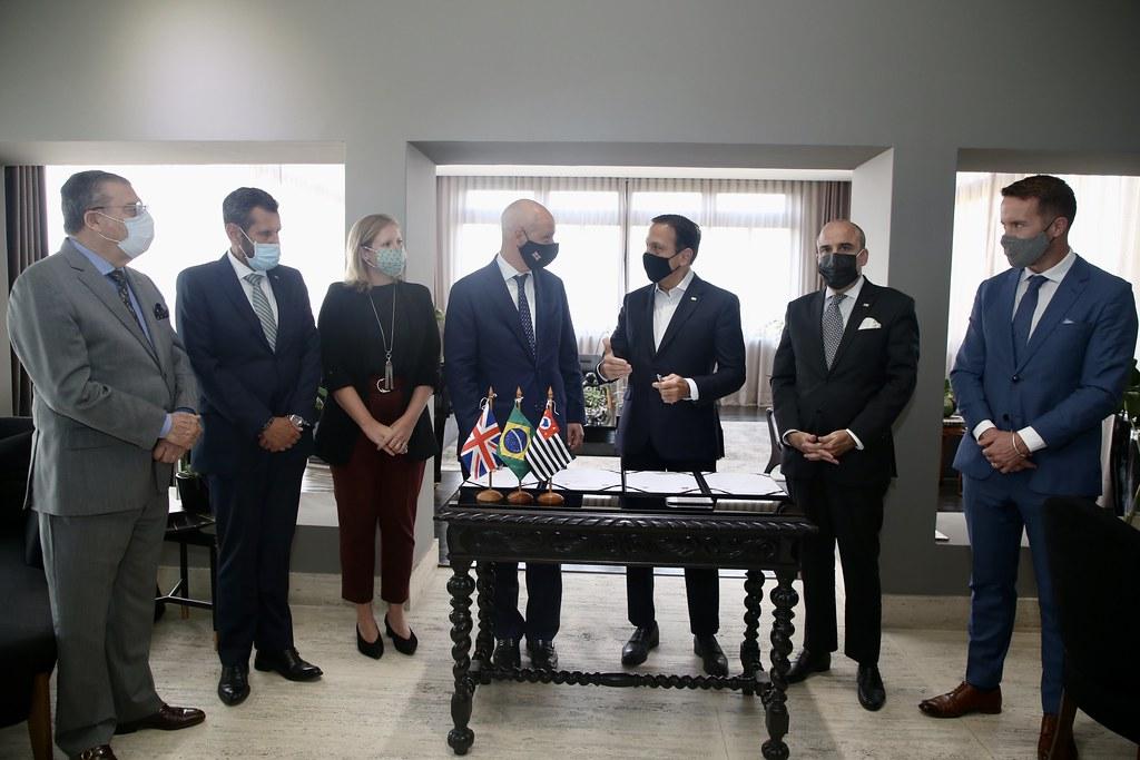 Assinatura do protocolo de descarbonização e investimentos verdes