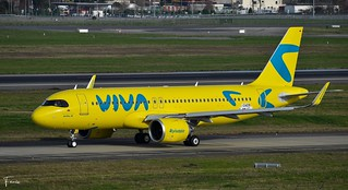 Viva Air Colombia Airbus A320neo (F-WWIC HK-5368 MSN10409) (25/02/2021)