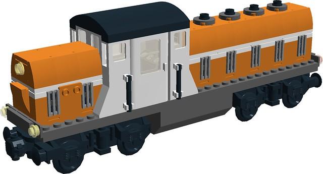 Nexus Force - RS-1 diesel locomotive - short hood