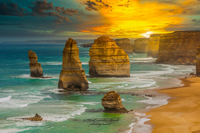 Sunset at Port Campbell National Park