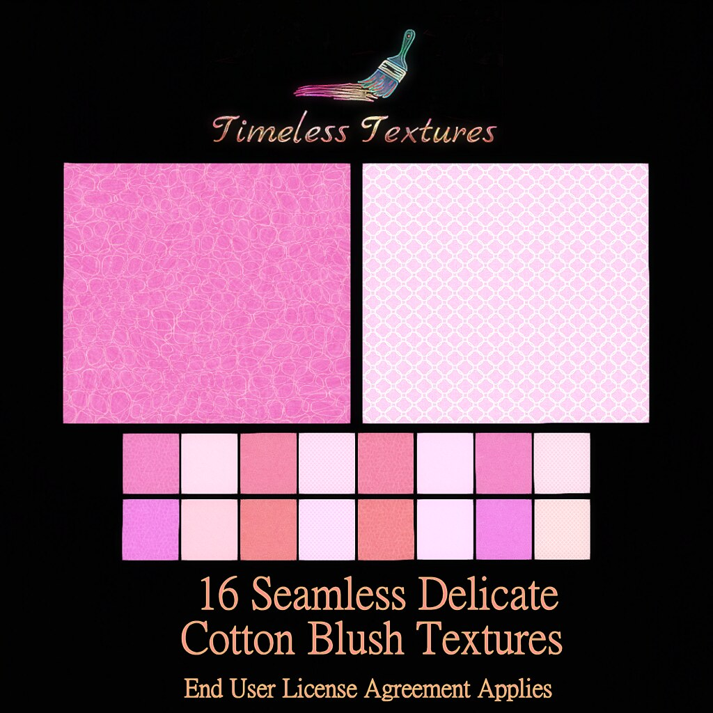 TT 16 Seamless Delicate Cotton Blush Timeless Textures