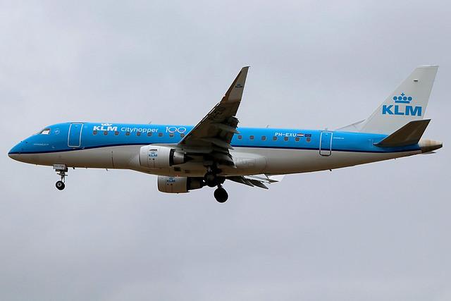 PH-EXU | Embraer ERJ-175STD | KLM Cityhopper