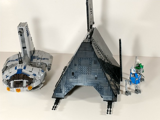 Lego star wars Krennics shuttle WIP