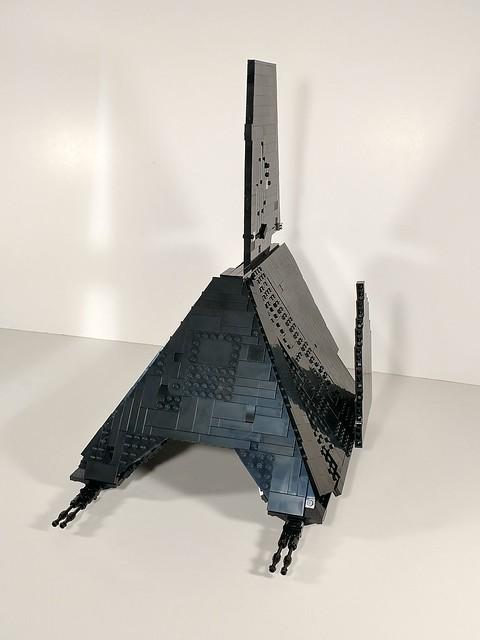 Lego Krennic's shuttle WIP