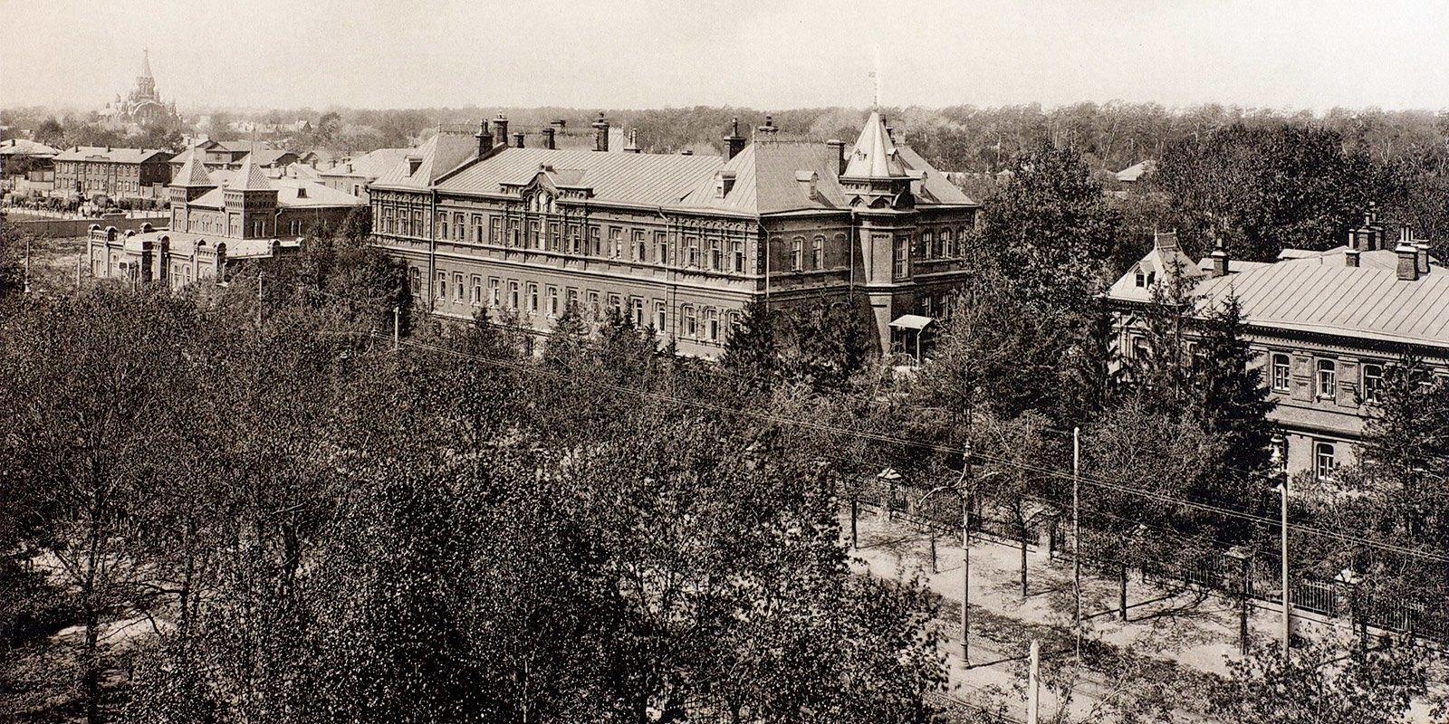 Больница и дом призрения им.братьев Бахрушиных