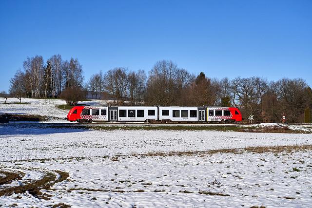 DB Regio_623 008-9/508-8_Lörzenbach-Fahrenbach 10.01.2021 [RB 69 Weinheim (Bergstr) Hbf - Fürth (Odenw)]