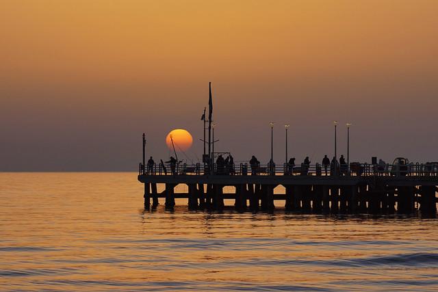 Fishing the sun in Forte dei Marmi