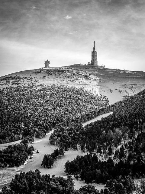 Mont Ventoux Janvier 2021