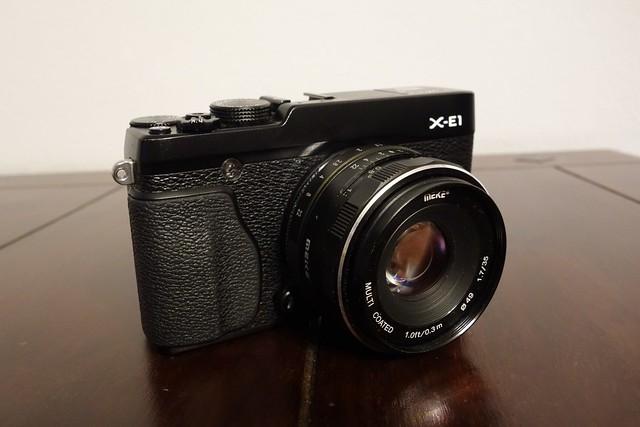 FujiFilm X-E1 - a new toy on the block