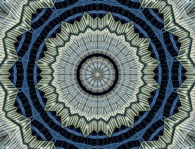 kaleidoscopic city seal