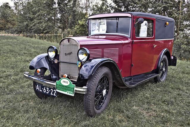 Rosengart LR44 Fourgon Tôlé 1932 7696)
