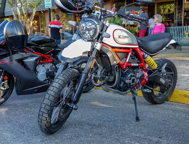 Ducati Scrambler Motorcycle