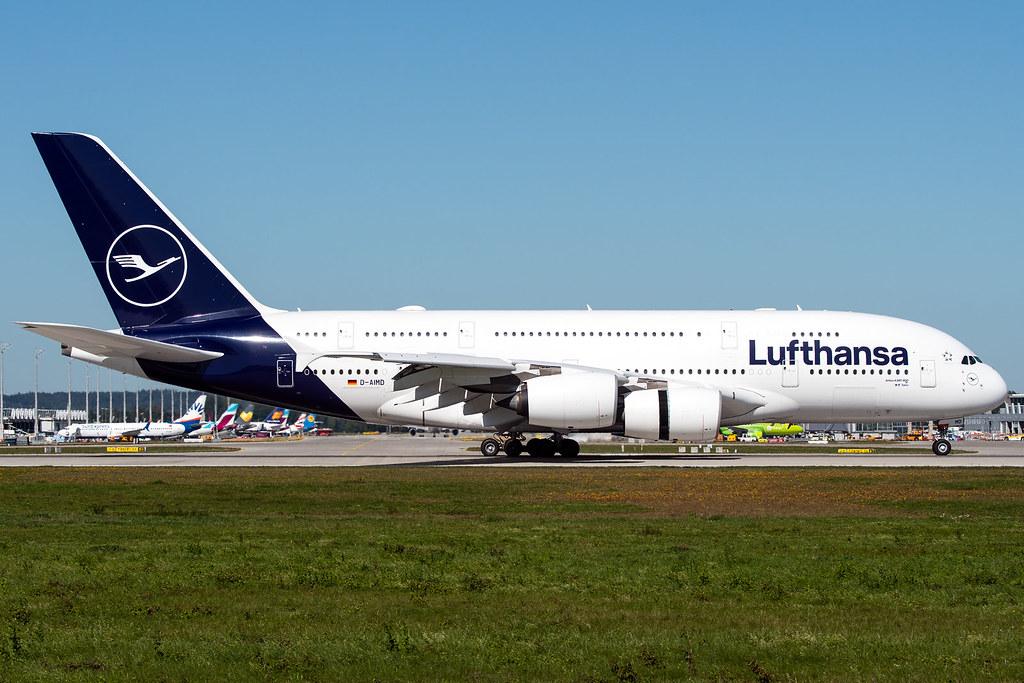 D-AIMD | Airbus A380-841 | Lufthansa