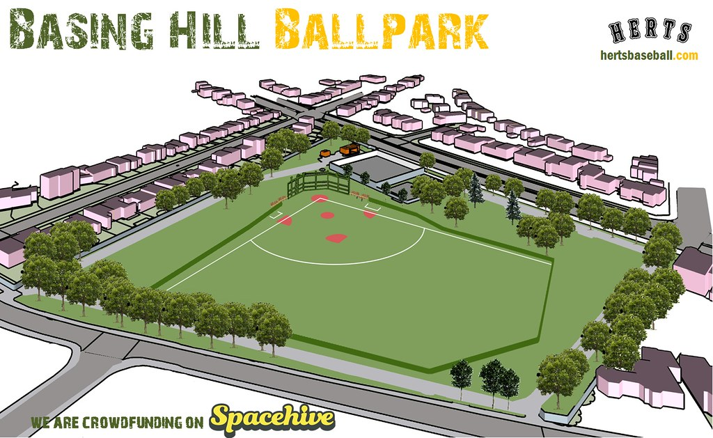 Crowdfunding campaign continues for Basing Hill Ballpark despite setback