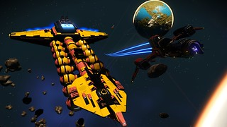 colorful capitol ship