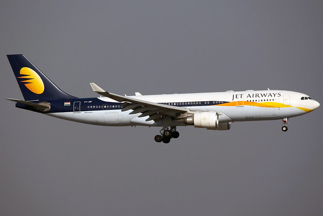 Jet Airways | Airbus A330-200 | VT-JWF | Hong Kong International
