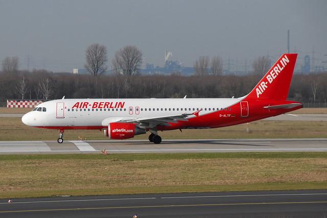 D-ALTF A320-214 Air Berlin