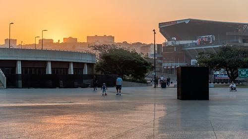 outdoor southafrica africa durban goldenhour kwazulunatal sky stadium sunset winter 体育场 冬天 南非 夸祖鲁纳塔尔省 德班 日落 非洲 黄金小时