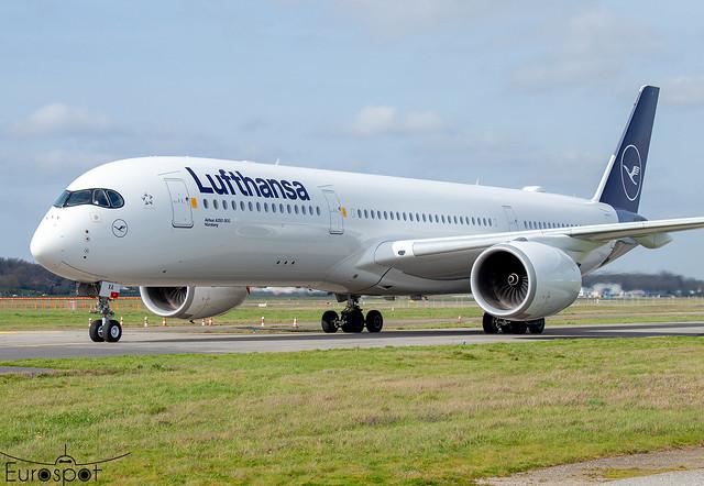 D-AIXA Airbus A350-941 Lufthansa