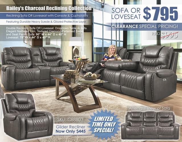 Baileys Charcoal Reclining Sofa & Loveseat Set_88803_2021_445